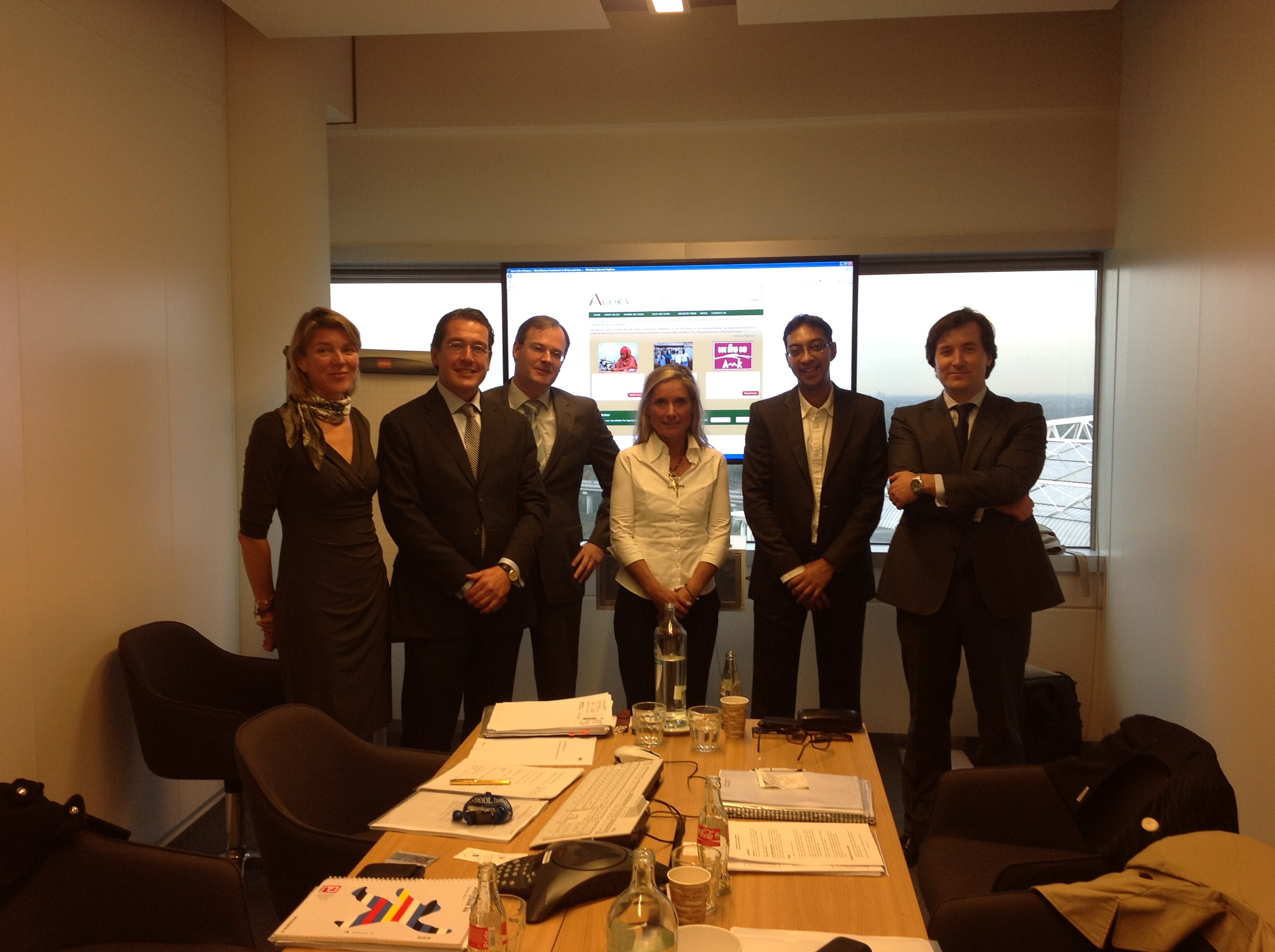 10/12 &#8212; First AGM of Agora Microfinance NV in Amsterdam